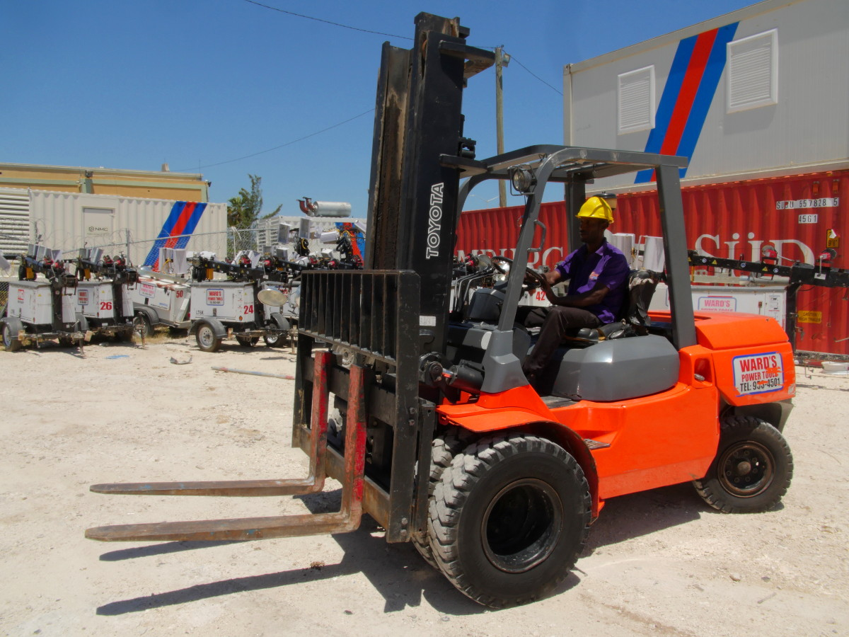 Toyota Forklift 6000 lbs  